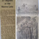 Portishead Long swim 1980